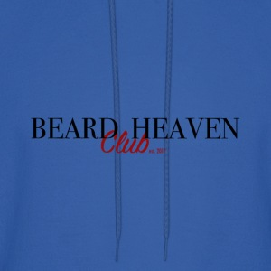 Beard heaven club label - Men's Hoodie