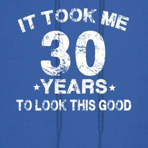 It took me 30 years to look this good t-shirt - Men's Hoodie
