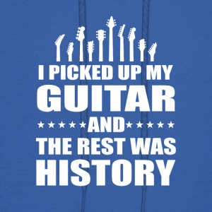 I Picked Up Guitar And Rest Was History - Men's Hoodie