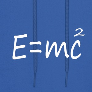 E=mc2 Albert Einstein Theory - Men's Hoodie