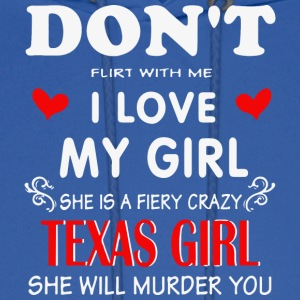 Texas girlfrien - Men's Hoodie