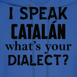 catalan dialect - Men's Hoodie