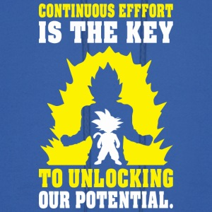 Continuous Effort Is Key To Unlocking Our Potentia - Men's Hoodie