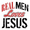 Real men love jesus - Men's Hoodie