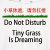 Do Not Disturb - Tiny Grass is Dreaming - Men's Hoodie