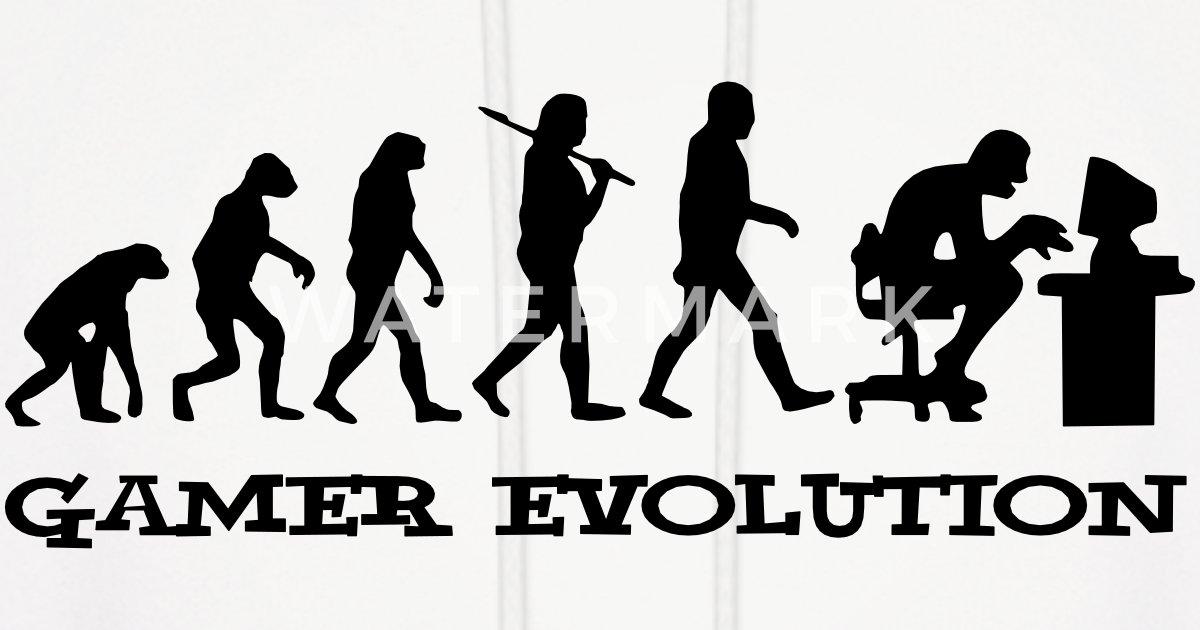 Gamer Evolution by marineloo   Spreadshirt