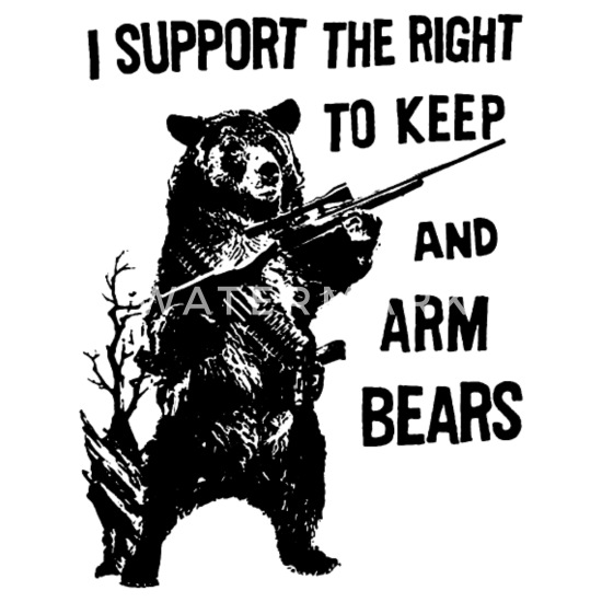 huge selection of 9ef81 c263a Arm Bears Funny Hunting Saying Military hunt Men's Hoodie ...