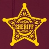 Sheriff Star Badge, Lincoln County, Old West - Men's Hoodie