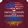American Grown With Ukrainian Roots - Men's Hoodie