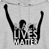 Black Lives Matter Woman's Long-Sleeved  - Men's Hoodie