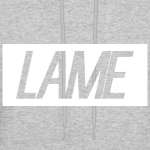lame/ white rectangle - Men's Hoodie