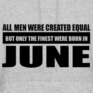 All men were created equal June designs - Men's Hoodie