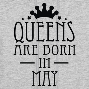 Queens Are Born In May - Men's Hoodie