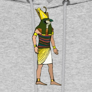 Ancient Egyptian Painting - Horus, the Falcon God - Men's Hoodie