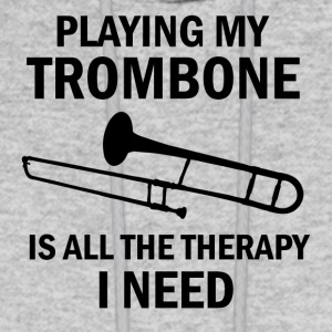Trombone therapy design - Men's Hoodie