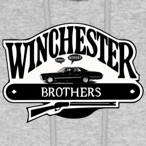 WINCHESTER - BROTHERS - Men's Hoodie