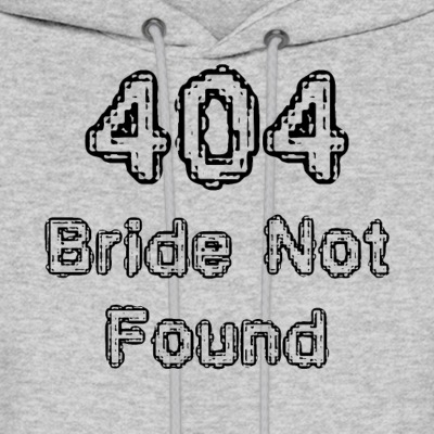 404 Bride not found - Men's Hoodie