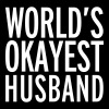 World's Okayest Husband  - Men's Hoodie