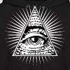 illuminati eye of providence - Men's Hoodie
