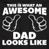 Awesome Dad Looks Like - Men's Hoodie