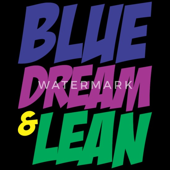 Blue Dream & Lean Men's Hoodie | Spreadshirt