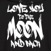 I Love You to the Moon and back - Men's Hoodie