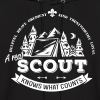 A real scout knows what counts - Men's Hoodie