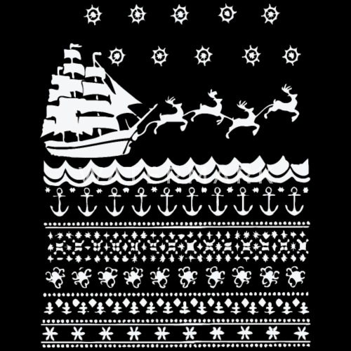 428bed1cacb Nautical Hoodie Sweater Christmas Spreadshirt Fleece Men's Ugly rHrqnZ