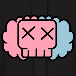 Cotton candy skullkid - Men's Hoodie