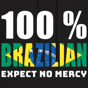 100 % BRAZILIAN - EXPECT NO MERCY - Men's Hoodie