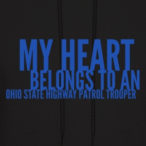 My Heart Belongs To An OSHP Trooper - Men's Hoodie