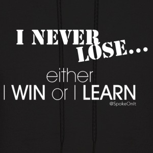 Win or Learn - Men's Hoodie