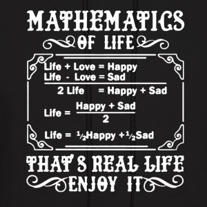 Mathematics Tee Shirt - Men's Hoodie