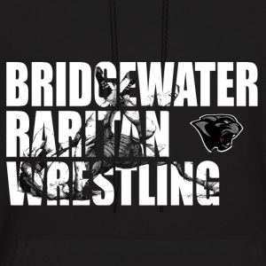 BR Panther Wrestling Cut-Out - Men's Hoodie