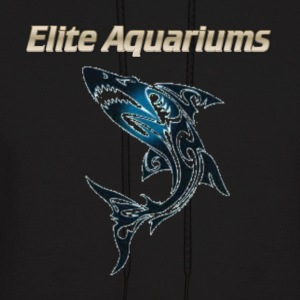 Maori Shark, with Elite Aquariums slogan - Men's Hoodie