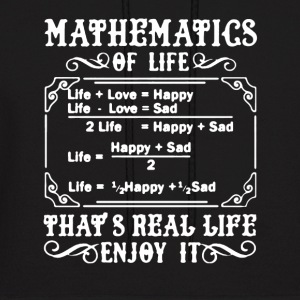 Mathematics Shirt - Men's Hoodie