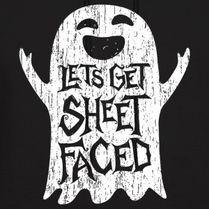 Lets Get Sheet Faced Ghost - Men's Hoodie