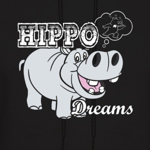 HIPPO DREAMS SHIRT - Men's Hoodie