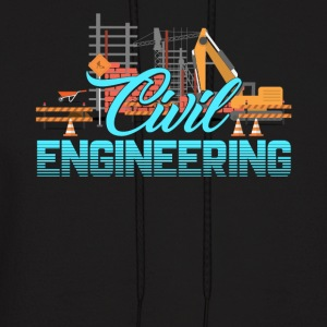 CIVIL ENGINEERING MENS SHIRT - Men's Hoodie