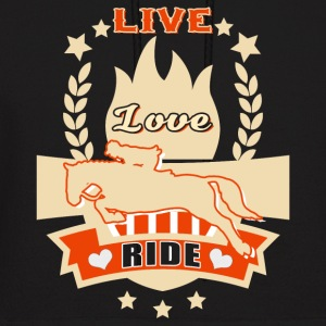 Live Love Ride T Shirt - Men's Hoodie