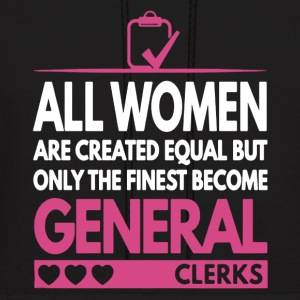 Awesome General Clerk Shirt - Men's Hoodie