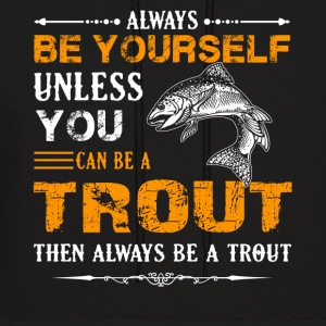 Trout Fish Shirt - Men's Hoodie