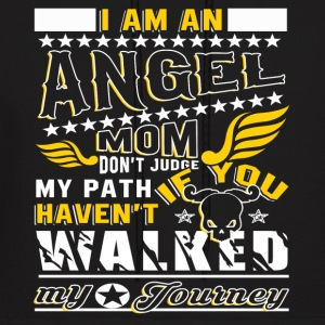 I Am An Angel Mom T Shirt - Men's Hoodie