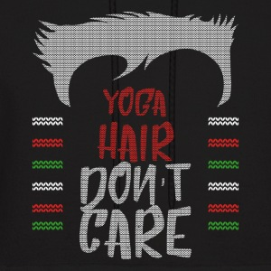 Ugly sweater christmas gift for yoga - Men's Hoodie