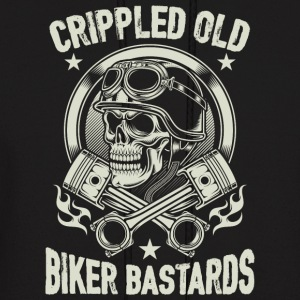 Crippled Old Biker Bastards T Shirt - Men's Hoodie