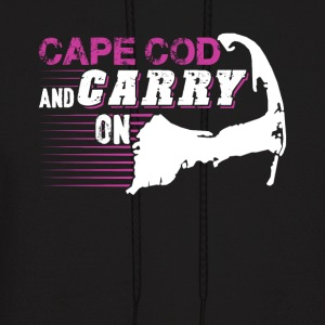 Cape Cod and Carry On Shirts - Men's Hoodie