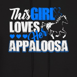 This girl loves her Appaloosa Shirts - Men's Hoodie