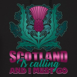 SCOTLAND IS CALLING AND I MUST GO SHIRT - Men's Hoodie