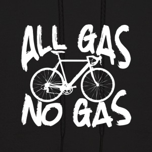 All gas no gas bicycle - Men's Hoodie