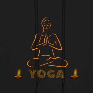 Yoga and meditation - Men's Hoodie